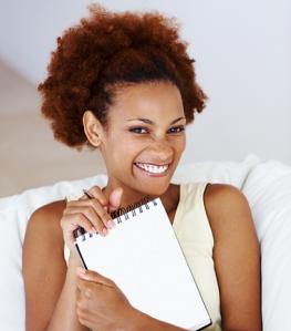woman-writing-list
